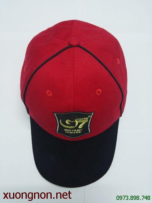 May nón đồng phục công ty Cafe Trung Nguyên